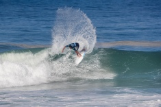 Michael Rodrigues (BRA) advances to the Quarter Finals of the 2018 Oi Rio Pro after placing second in Heat 1 of Round 4 at Itaúna Beach, Saquarema, Rio de Janeiro, Brazil.